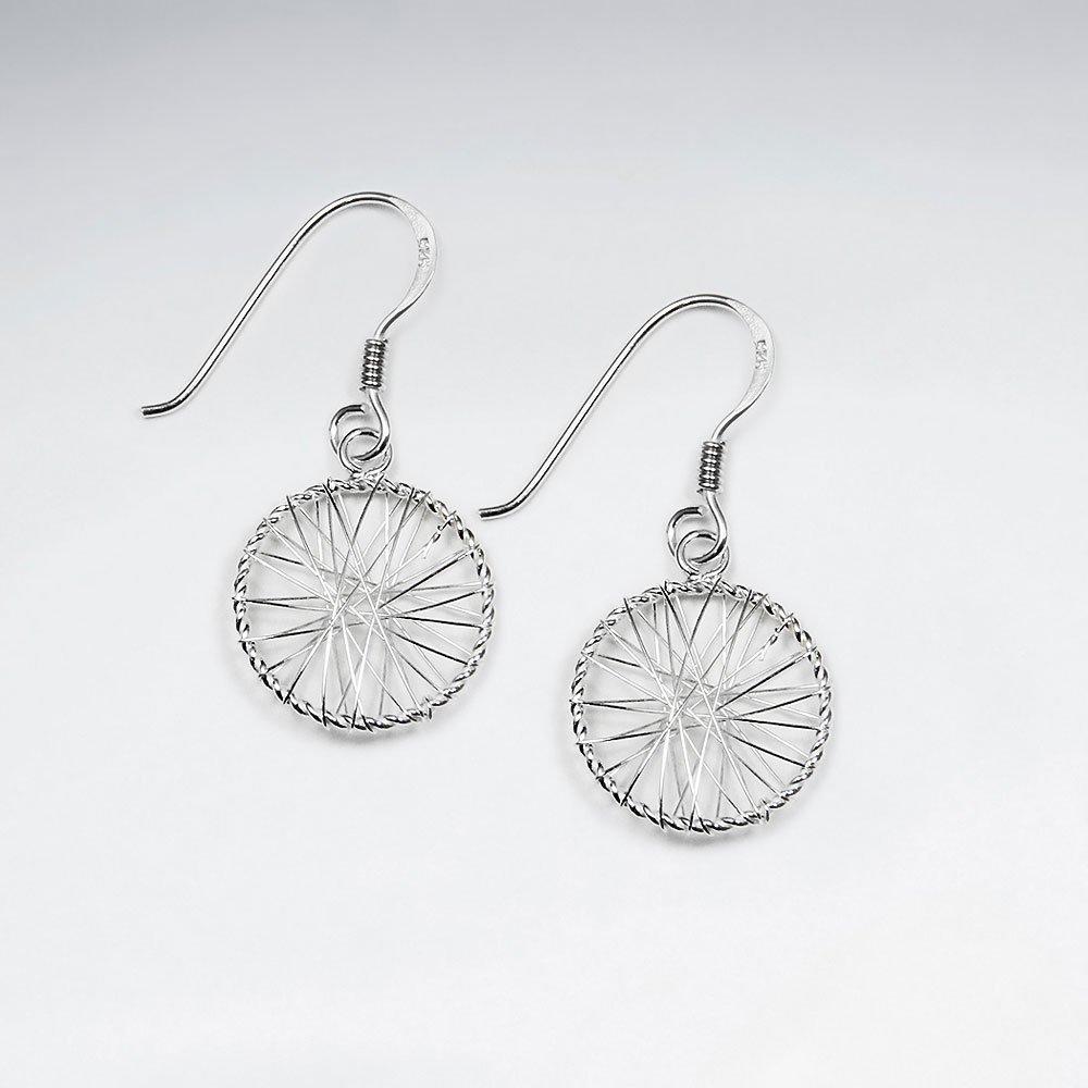 Cercei Argint 925-Cerc in vant