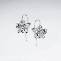 Cercei Argint 925-Flori deschise