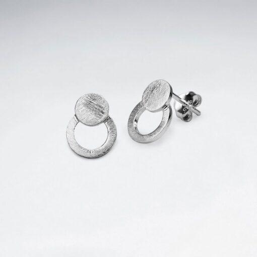Cercei Argint 925 - Cercuri inegale