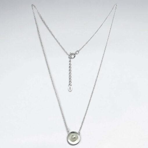 Lantisor Argint 925 cu Pandantiv Perla