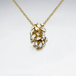 Pandantiv Argint 925- Ciuperci primavara