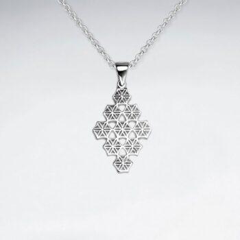 Pandantiv Argint 925-Silueta de Marquise