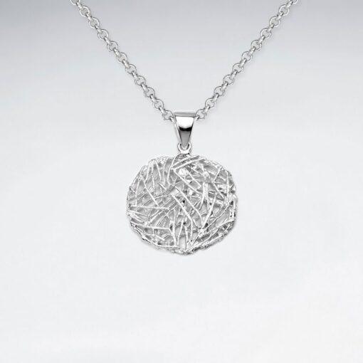 Pandantiv Argint 925-Cuib modern