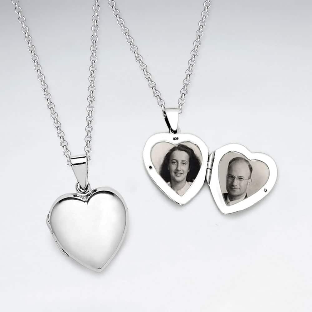 Pandantiv Argint 925-Inima deschisa | ColibriArt.ro
