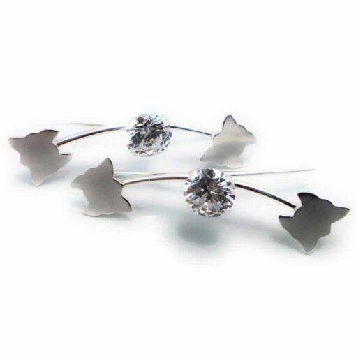 Cercei Argint   Colibriart