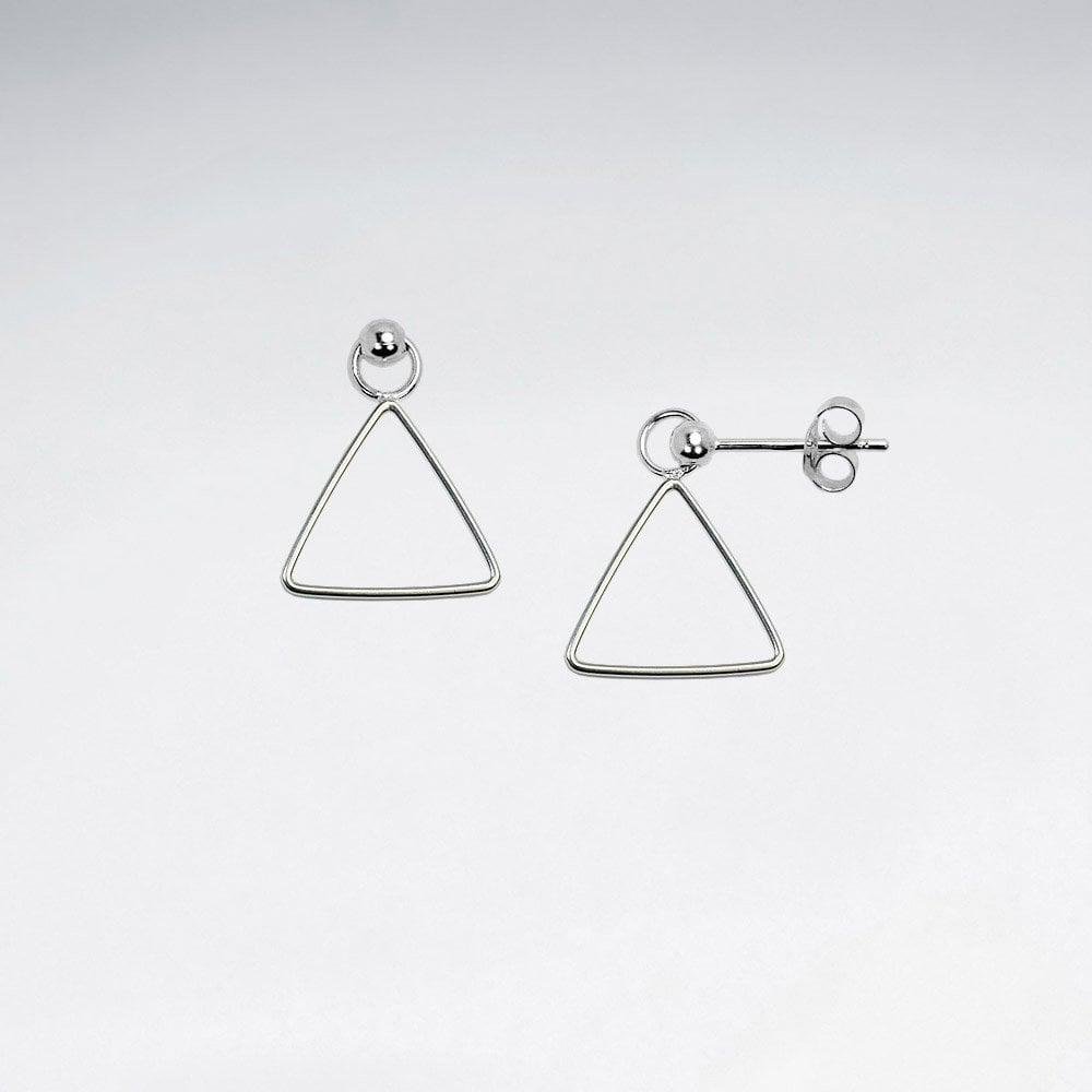 economii fantastice cei mai buni adidași concept nou Cercei Argint 925-Triunghi Liber la preturi avantajoase