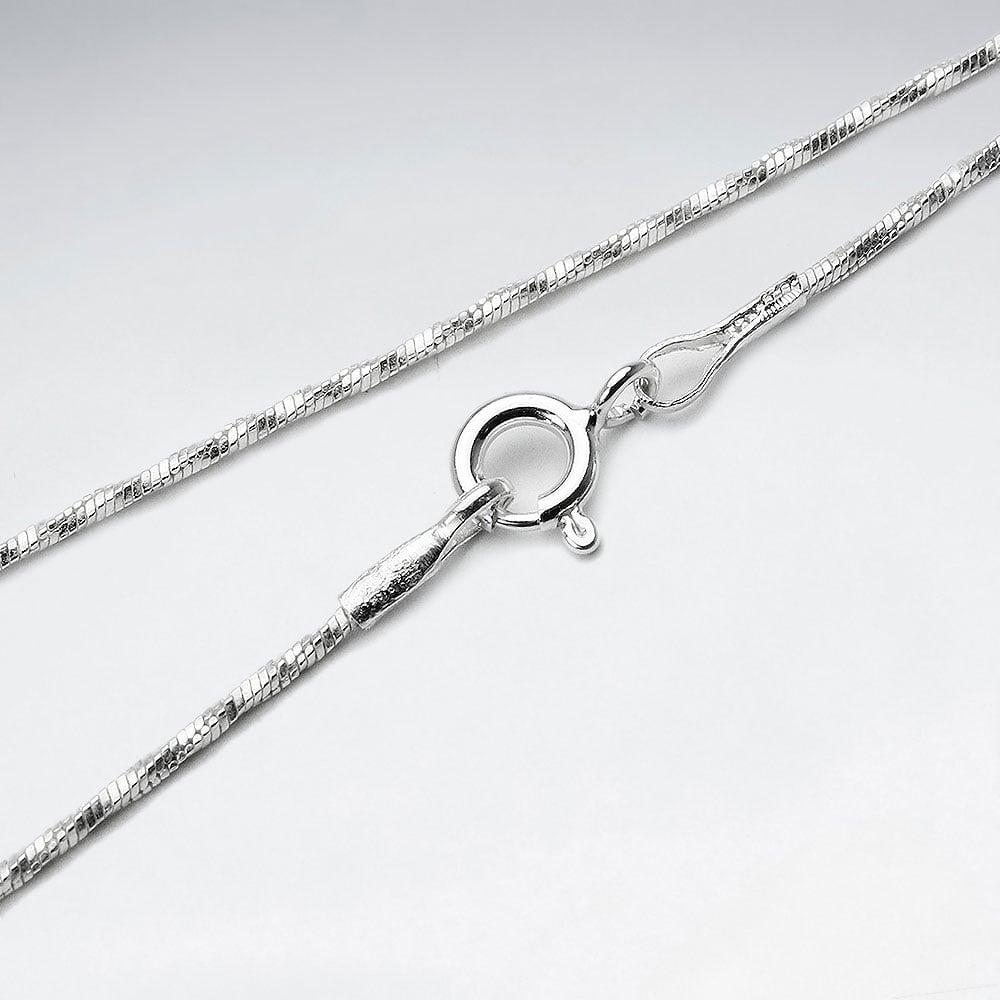 cum să cumpere mărci recunoscute produs fierbinte Lantisor Argint 925-Sarpe Rasucit la preturi avantajoase
