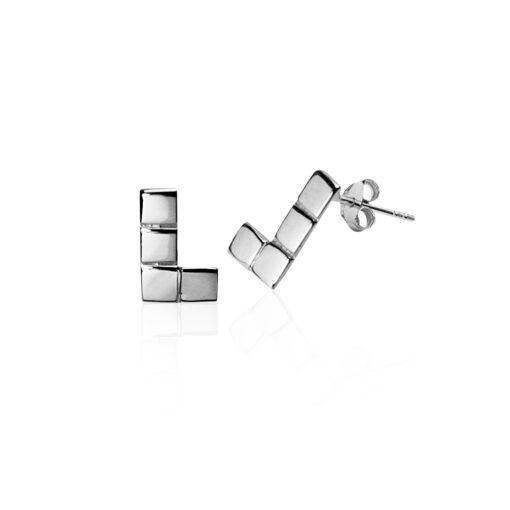 Cercei Argint 925-Forme geometrice L