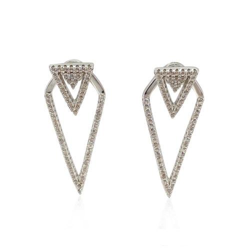 Cercei Argint 925-Stil cu Cristale